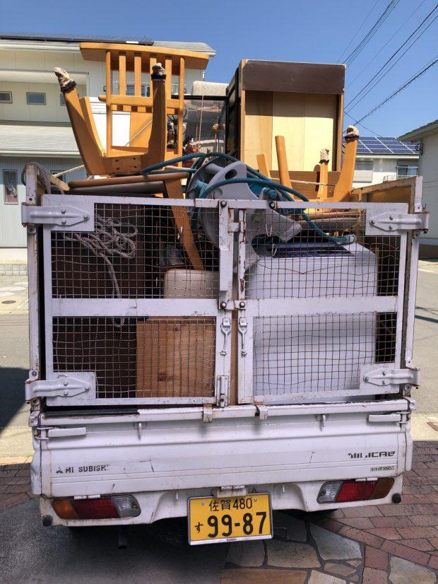 【小城市三日月町】お引っ越しに伴う不用品回収☆作業の早さやご希望日での対応にご満足いただけました!