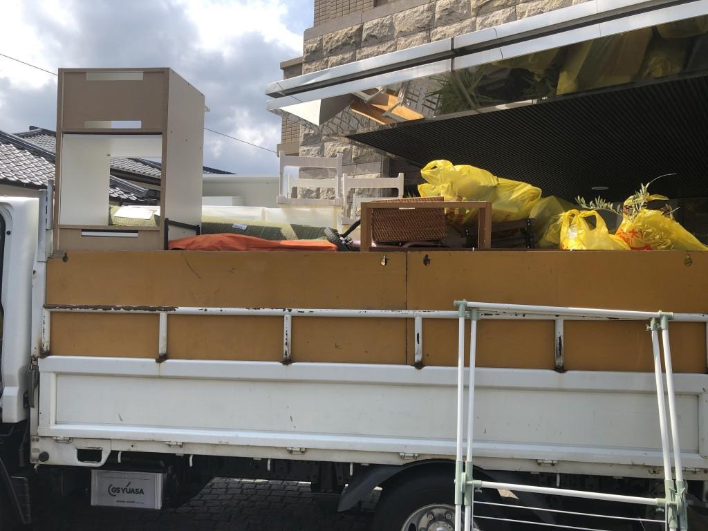 【唐津市】収納棚の回収☆スタッフの迅速で丁寧な回収にとても喜んでいただきました!