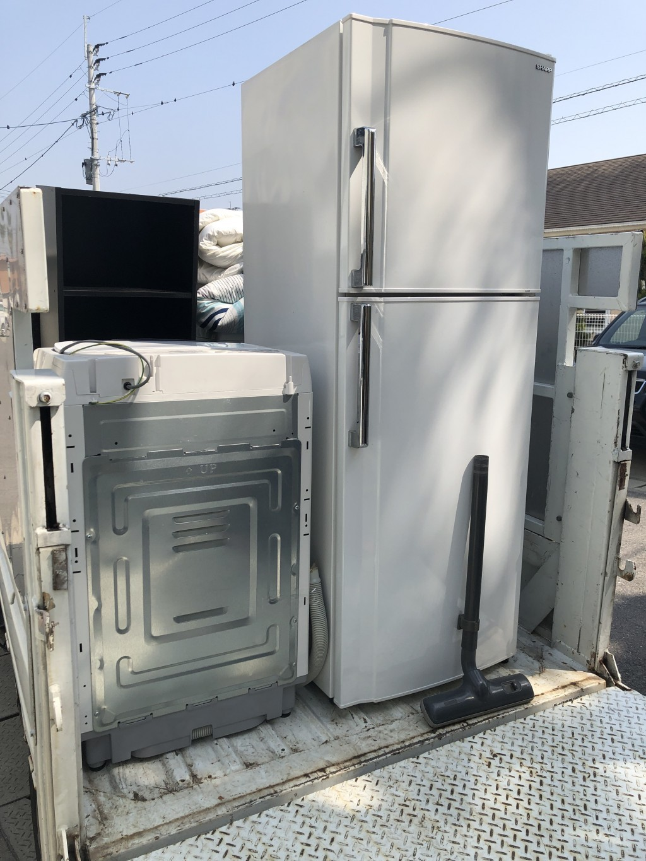 【小城市】冷蔵庫、洗濯機の不用品回収処分 お客様の声