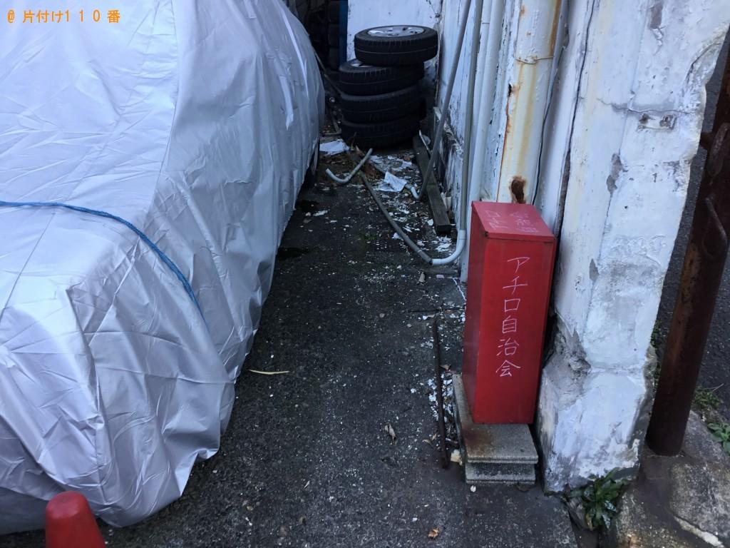 【佐賀市】自動車タイヤ、ダンボール、収納ボックス等の回収・処分