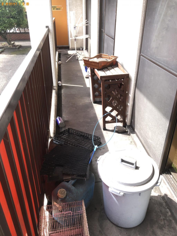【佐賀市】自転車、布団、鞄、バケツ、収納ケース等の回収・処分