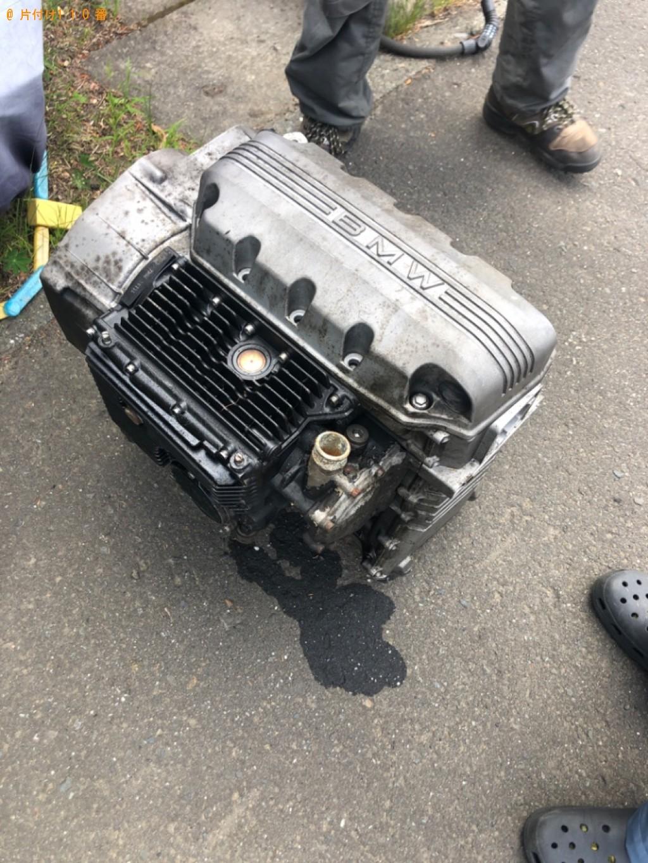 【佐賀市】製図機、オートバイのエンジンの回収・処分ご依頼