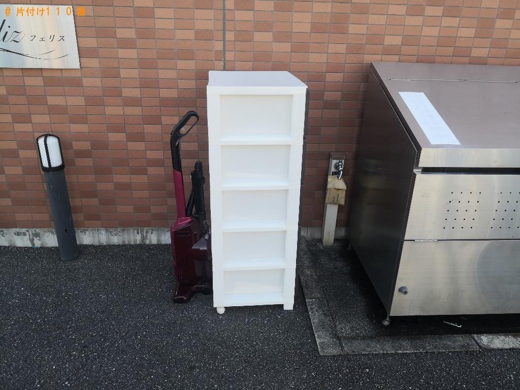 【佐賀市】衣装ケース、掃除機等の回収・処分ご依頼 お客様の声