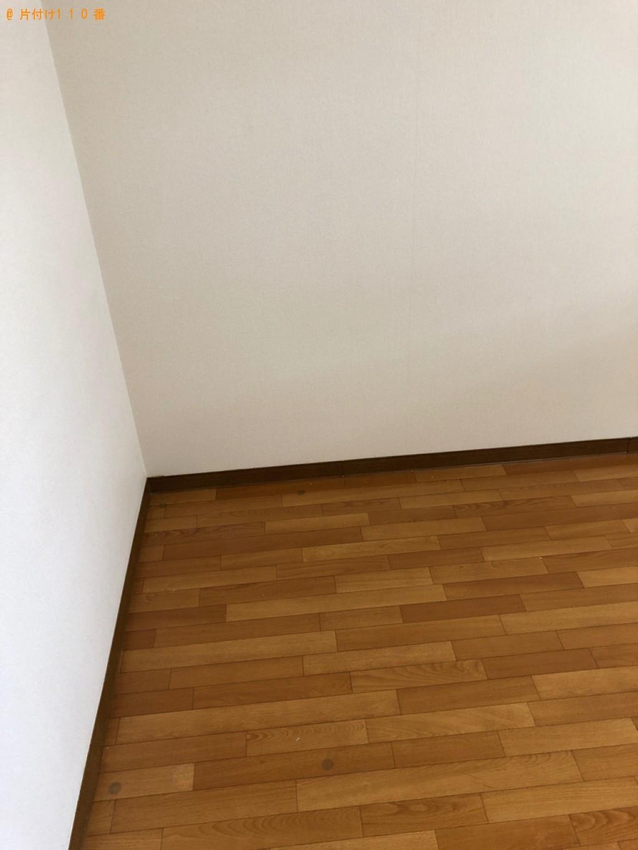 【佐賀市】シングルベッド、ベッドマットレス、小型家電等の回収