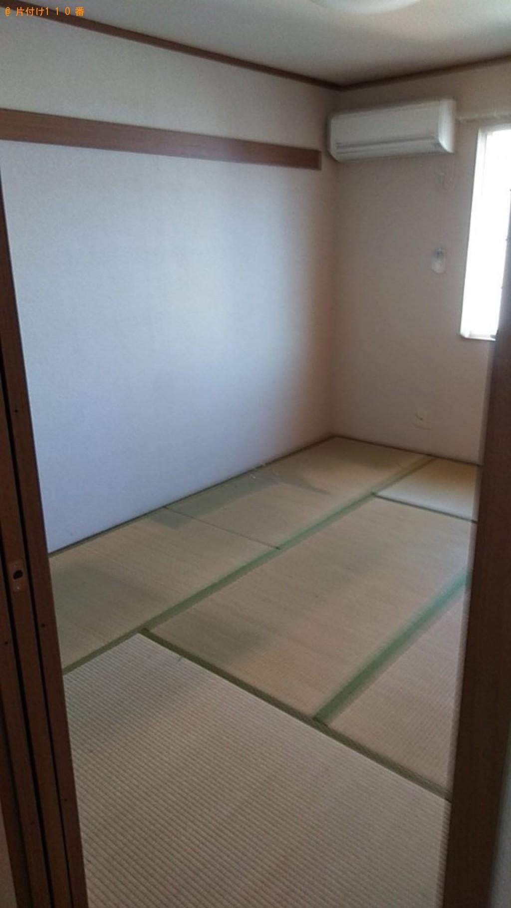 【佐賀市】本棚、食器棚、ソファー、カラーボックス、椅子等の回収