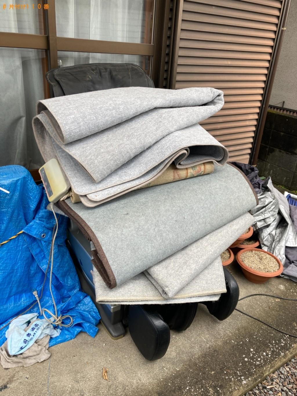 【佐賀市】マッサージチェア、自転車、ホットカーペット等の回収