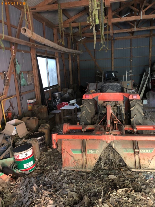 【佐賀市】農機具、缶、ドラム缶等の回収・処分ご依頼 お客様の声