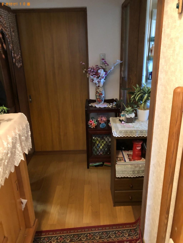 【佐賀市】テレビ、タンス、テレビ台、パーテーションの回収・処分