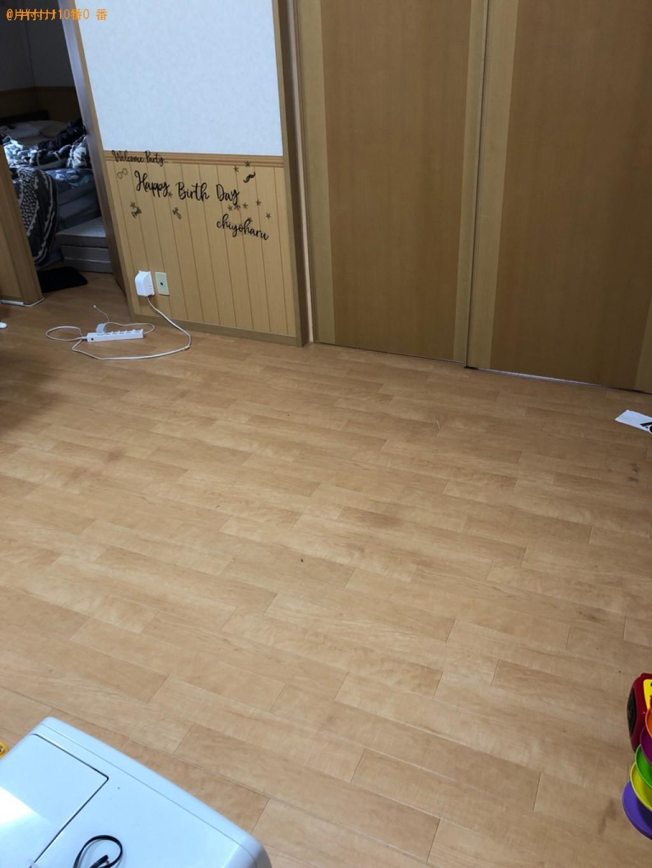 【佐賀市】三人掛けソファー、パソコン、衣装ケース、扇風機等の回収