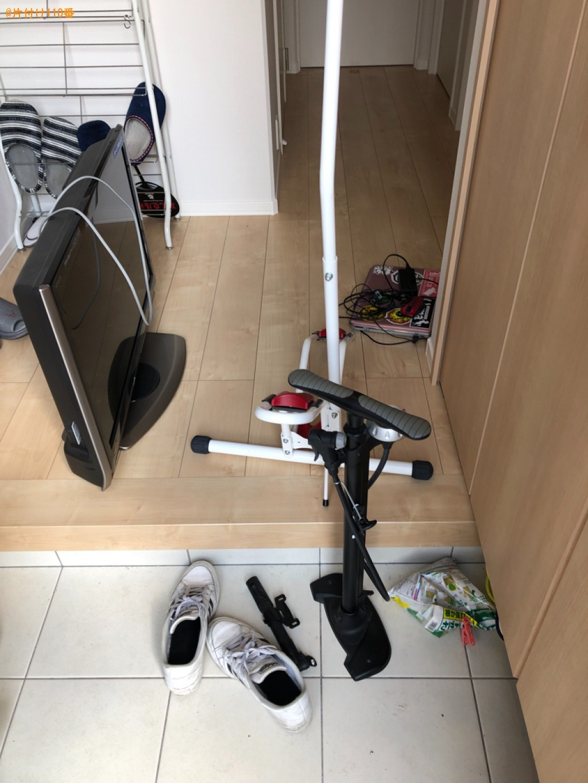 テレビ、パソコン、自転車、テレビボード等の回収・処分ご依頼