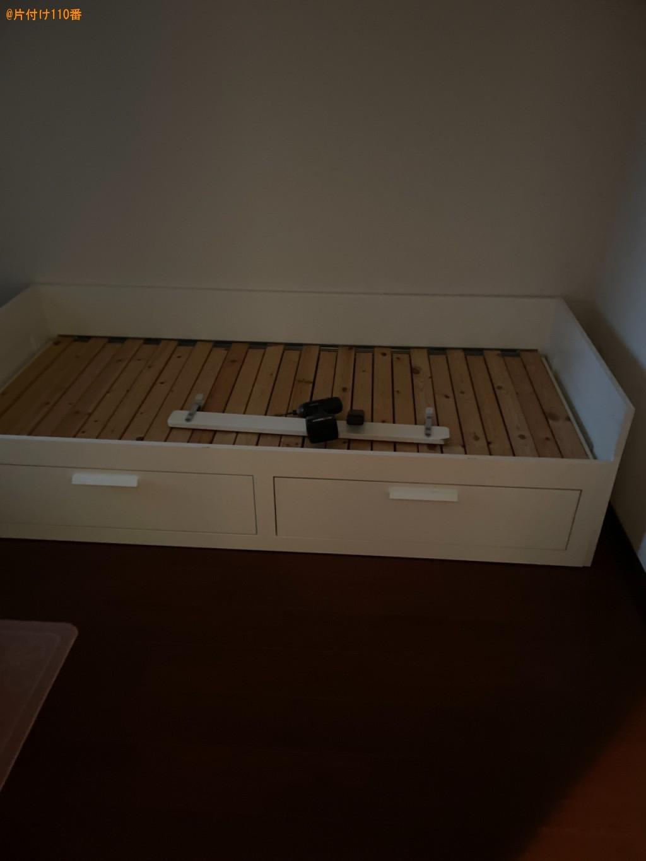 シングルベッド、二人掛けソファーの回収・処分ご依頼 お客様の声