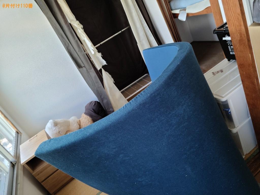 冷蔵庫、こたつ、ウレタンマットレス、椅子、こたつ布団等の回収